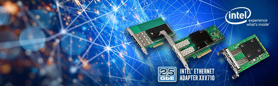 Karty sieciowe Intel® Ethernet